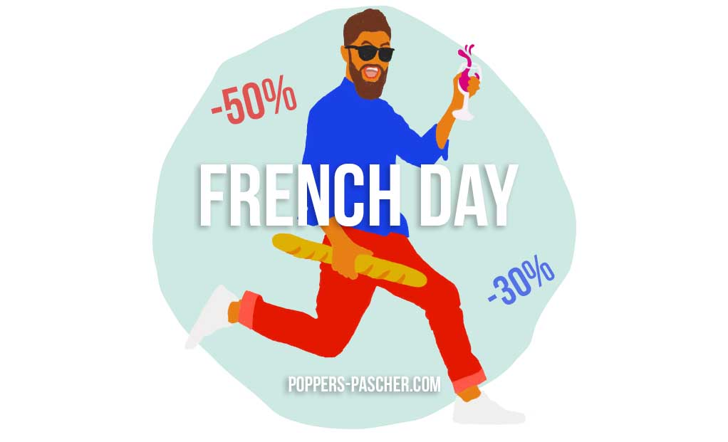 French day pour acheter poppers pas cher