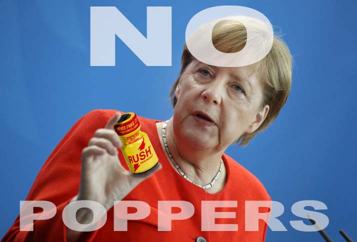 Poppers Allemagne interdit