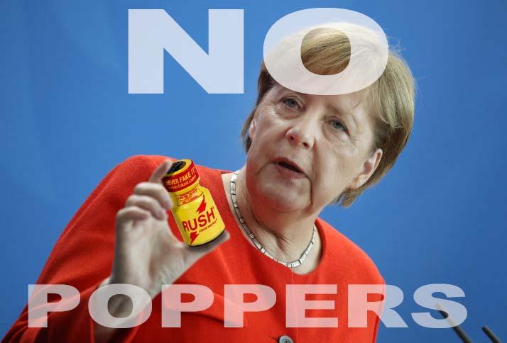 Poppers Allemagne interdit