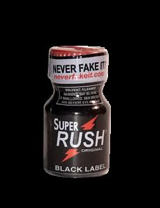 test et avis sur le poppers rush black