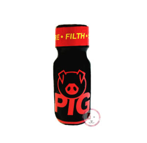 Poppers UK pig rouge