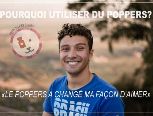 il prend du poppers